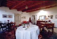 Ferrara Farmhouse Le Occare, the dinning room